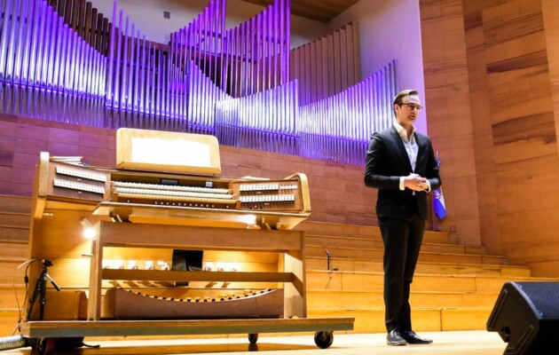 """""""Tres veces alemán"""", dio comienzo a un ciclo de conciertos en el Auditorio Juan Victoria"""